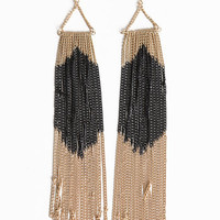 Golden Weekend Earrings - &amp;#36;13.00 : ThreadSence.com, Your Spot For Indie Clothing &amp; Indie Urban Culture
