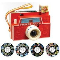 Basic Fun FisherPrice Retro Changeable Disc Camera