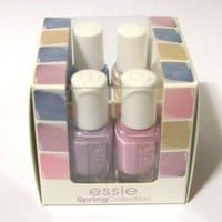 essie NEW Spring 2011 Collection Mini 4 bottle