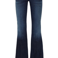 Goldsign | Virginia low-rise flared jeans | NET-A-PORTER.COM