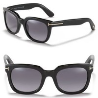 Tom Ford Campbell Fade Wayfarer Sunglasses - Sunglasses - Accessories - Jewelry &amp; Accessories - Bloomingdale&#x27;s