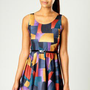 Yasmine Printed Skater Dress