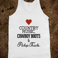 Love Cowboy Boots, Country Music and Pickup Trucks - Awesome fun #$!!*&amp;