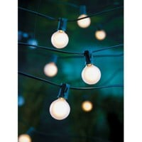 Room Essentials Frosted Globe Lights (25ct)