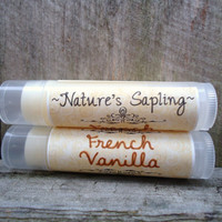 French Vanilla Lip Balm, Chap Stick