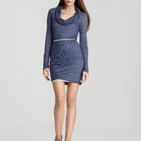 Splendid Heather Jersey Cowlneck Dress - Contemporary - Bloomingdale&#x27;s