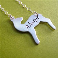 Snape's Patronus Necklace - Spiffing Jewelry
