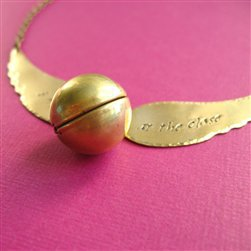 Snitch Necklace #2 - Spiffing Jewelry