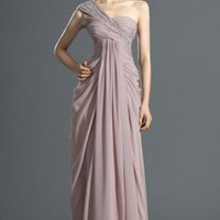 New Arrival Stunning One Shoulder Evening dress - Basadress.com