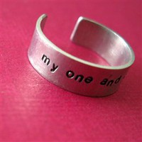 Custom Skinny Ring - Spiffing Jewelry