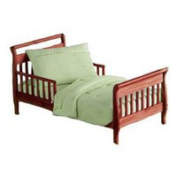 Heavenly Soft Toddler Bedding Set - color: Sage