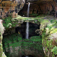 see the Baatara gorge waterfall