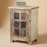 ONE OF A KIND CARVED CABINET        -                Nightstands &amp; Dressers        -                Furniture        -                Furniture &amp; Decor                    | Robert Redford&#x27;s Sundance Catalog