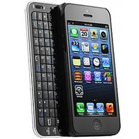 Black SLIDE OUT bluetooth Keyboard case Wireless Ultra Thin for iPhone 4/4s/5