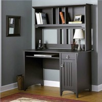 BUSH FURNITURE Bush Furniture Salinas Mission Desk and Hutch