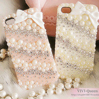 Bow IPhone Case Pearl IPhone 4s Cas.. on Luulla