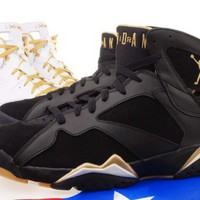 Nike Mens Air Jordan 6 Gold Medal Golden Moments Pack 535357-935