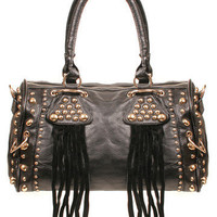 GYPSY WARRIOR - Studded Medicine Bag