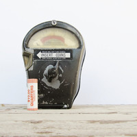 Industrial Decor Parking Meter by Modred12 on Etsy