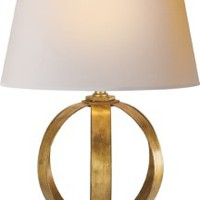 Metal Banded Table Lamp - CHA8530