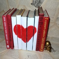 Heart & Red Books Instant Library Collection by sorrythankyou79