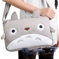 My Neighbor Totoro Plush School messenger Bag Purse #b KTWJ173