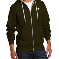 Champion Men's Champion Eco Fleece Full Zip Hoodie