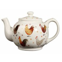 Alex Clark Rooster Teapot - Tableware / Serveware from the gifted penguin UK