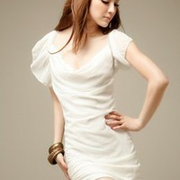 Wonderful Slim Summer Dresses White Hot Sale : Wholesaleclothing4u.com