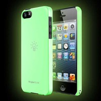 Luminous Phone 5 Ringke SLIM Premium Hard Case [Glow in the Dark] [AT