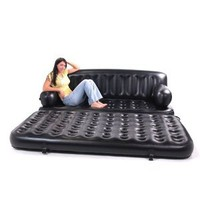 Smart Air Beds King Sized 5 x 1 Inflatable Sofa Bed, Black:Amazon:Sports & Outdoors