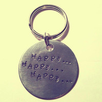 Hand Stamped Keychain with Quote from Phil Robertson of Duck Dynasty