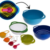 Nest 8 Food Preparation Bowls