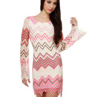 Yucatan Peninsula Zigzag Dress