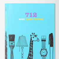 Urban Outfitters - 712 More Things To Draw Journal By Chronicle Books