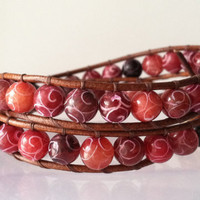 Chan Luu Inspired Double Wrap Bracelet by Jennasjewelrydesign