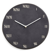 Chalk at Length Clock | Mod Retro Vintage Wall Decor | ModCloth.com