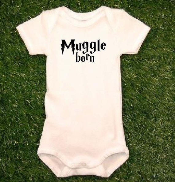 Harry Potter Onesuit Muggle Born Onesuit Muggle Born Harry by uVinyl
