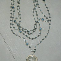 Virgins Saints and Angels Jewelry, VSA Magdelena Necklaces, Virgins Saints and Angels Jewelry and accessories, Virgins Saints and Angeles Belt Buckles,Virgins, Saints &amp; Angels San Benito Magdalena Necklace