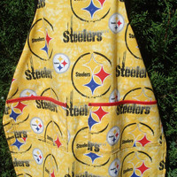 Steelers' Apron for The Little Fan by TheGoodOleDays on Etsy