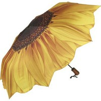 Amazon.com: Galleria Sunflower Bloom Folding Umbrella - Sunflower Bloom: Clothing