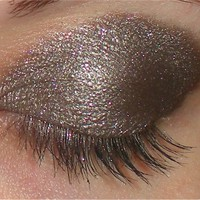 Ticker Time - Unique Pigments taupe glittery loose mineral eyeshadow
