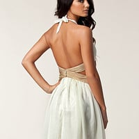 Halter Neck Cut Out Dress, Rare London