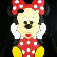Hot 3D Minnie Soft Silic...