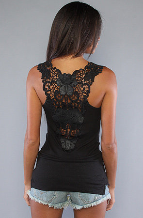 The Fabulousness Tank in Black Heather : Free People : Karmaloop.com - Global Concrete Culture