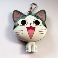 Kawaii Cat Mirror Compact Hand Mirror by KitschBitchJewellery