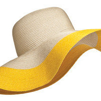 sun hat floppy fold-able beach pool resort cruise travel pack-able versatile NEW