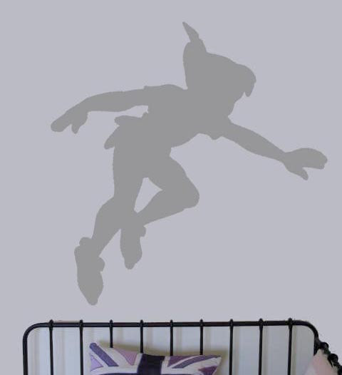 Peter Pan Shadow Vinyl Decal - UK S.. on Luulla