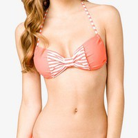 Striped Bow Bikini Top | FOREVER 21 - 2000049571