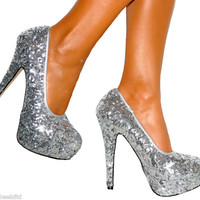 LADIES SIZE 5 SILVER SEQ...
